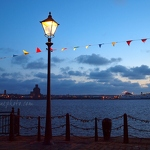 River Mersey Bunting and Love Locks - Anna Nielsson