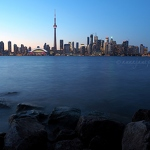 Toronto Waterfront at Dusk - Anna Nielsson