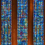 West Window Stained Glass - Anna Nielsson