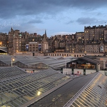 Edinburgh Old Town & Waverley Station - Anna Nielsson