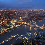 View from the Shard (North-East) - Anna Nielsson