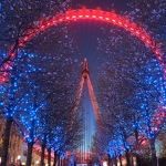 London Eye & Blossom - Anna Nielsson
