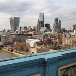 Financial District from Tower Bridge - Anna Nielsson