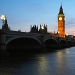 Big Ben & Westminster Bridge - Anna Nielsson