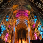 Liverpool Cathedral Lights - Anna Nielsson