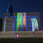 Cunard Building Projections - Anna Nielsson