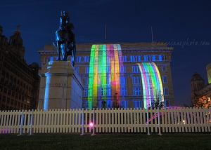 Cunard Building Projections