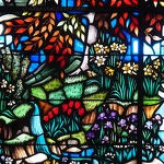 Spring Grove Cemetery Stained Glass Flowers - Anna Nielsson