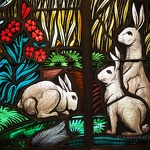 Stained Glass Rabbits - Anna Nielsson