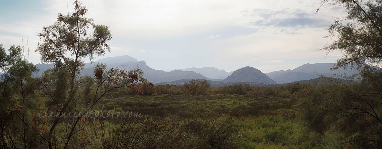 S'Albufereta Nature Reserve & Mountains Panorama - 20150817-s'albufereta-nature-reserve-panorama.jpg - Anna Nielsson