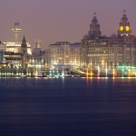 Liverpool Waterfront at Dusk - Anna Nielsson