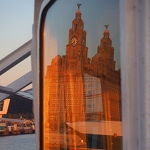Liver Building Reflected - Anna Nielsson