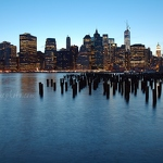 Blue Lower Manhattan - Anna Nielsson