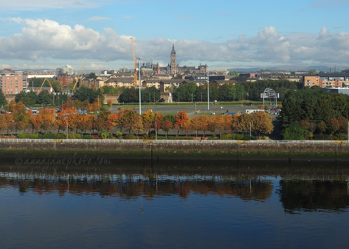 University of Glasgow from Science Centre - 20161010-view-from-glasgow-science-centre.jpg - Anna Nielsson