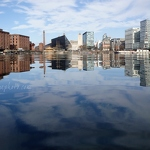 Salthouse Dock Reflections - Anna Nielsson
