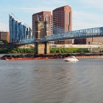 Barge and Ohio River - Anna Nielsson