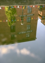 Albert Dock Reflection