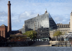 Mann Island from Salthouse Dock